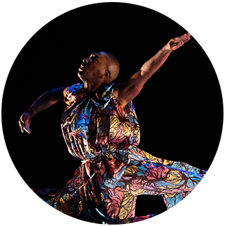 photo of dancer jumping